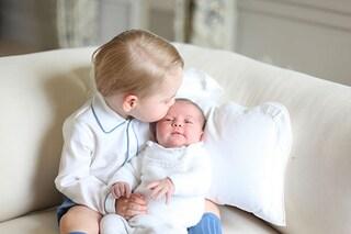 """'Nonno' Carlo rivela: """"Charlotte è molto più buona di George"""""""