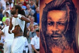 Dustin Brown e il mistero del tatuaggio, non era Bob Marley ma suo padre