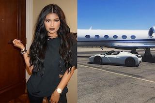 Kylie Jenner, la Ferrari in regalo per i suoi 18 anni non è andata distrutta