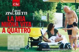 Luisa Ranieri e Luca Zingaretti, la prima foto con la figlia Bianca