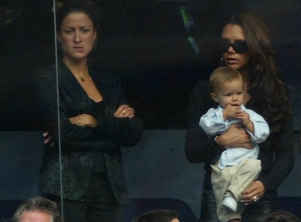 Rebecca Loos, assistente personale di Victoria e David Beckham con la quale il campione avrebbe avuto una relazione.