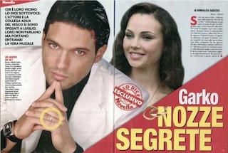 """Gabriel Garko smentisce con ironia le nozze segrete con Adua: """"Non sono stato invitato"""""""