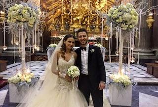"""Il matrimonio di Andrea Bertolacci e Nicole Murgia: """"Primo Natale da sposi"""""""