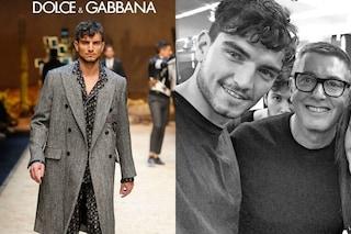 """Marco Fantini fa il salto di qualità: è diventato modello per """"Dolce & Gabbana"""""""