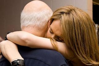 Celine Dion e l'abbraccio a René nella nuova foto del profilo Facebook