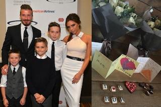 """Festa della mamma, David e i figli a Victoria Beckham: """"Sei la nostra ispirazione"""""""
