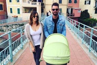 """La prima foto di Serena Garitta con il figlio Renzo: """"Nicolò vuole già una femminuccia"""""""