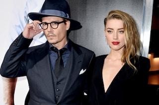 Tra Johnny Depp e Amber Heard è addio dopo un anno, lei chiede il divorzio