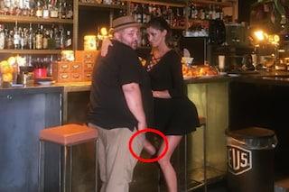 """Belén Rodriguez e la foto con l'illusione """"hot"""" che fa gridare allo scandalo"""