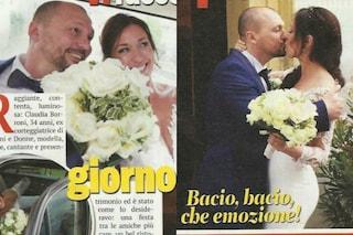 """Claudia Borroni si è sposata, fu la scelta di Samuele Nardi a """"Uomini e Donne"""""""