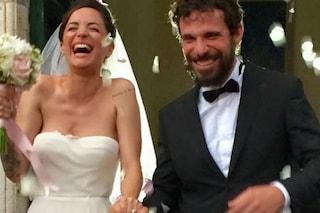 Andrea Delogu e Francesco Montanari si sono sposati