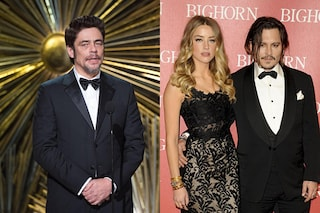 """Benicio Del Toro difende Johnny Depp: """"Amber Heard è una persona contorta e con problemi"""""""
