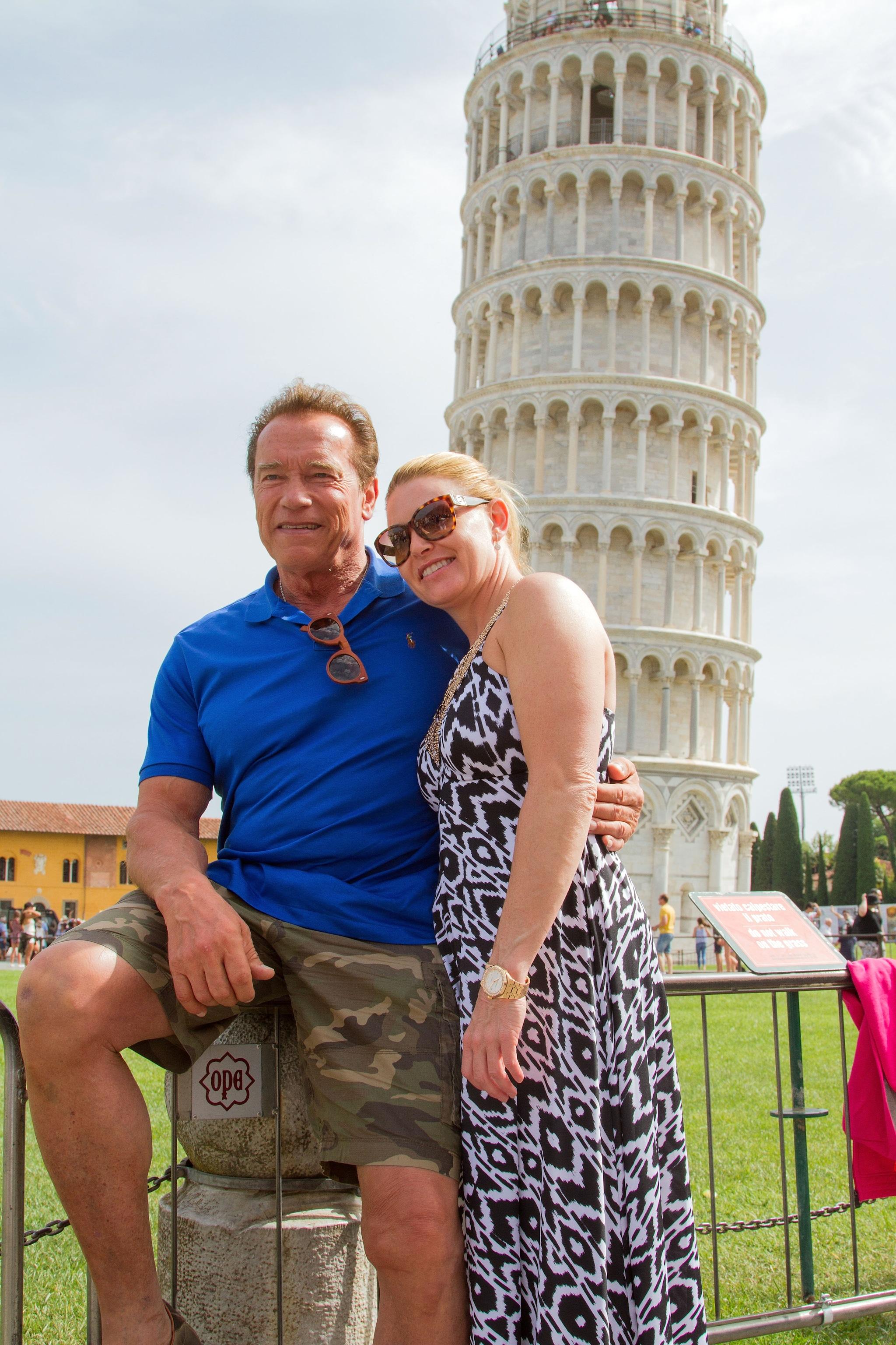 Arnold Schwarzenegger dating spettacolo