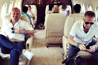 """Sonia Bruganelli, moglie di Bonolis: """"Noleggiamo l'aereo privato perché possiamo"""""""