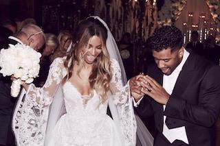 Ciara sposa Russell Wilson dopo 15 mesi di fidanzamento, lei aveva fatto voto di castità