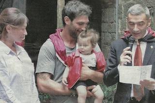 Le foto del battesimo di Maria Sole, figlia di Francesco Arca e Irene Capuano