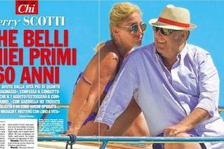 """Gerry Scotti e la compagna Gabriella: """"La conosco da sempre, siamo felici insieme"""""""