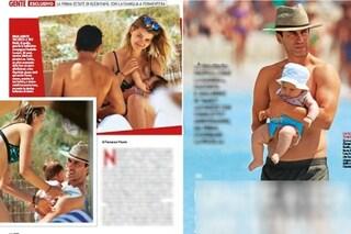 """La prima estate da papà di Kledi Kadiu: """"Ci godiamo la bambina, ma non sposo Charlotte"""""""