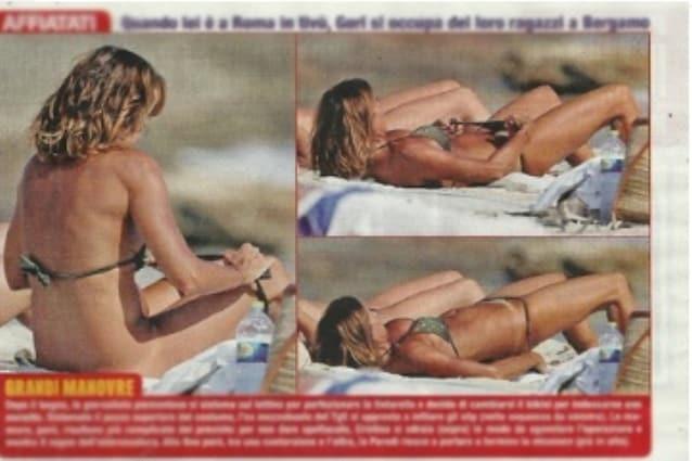 Cristina nackt Parodi Nudity in