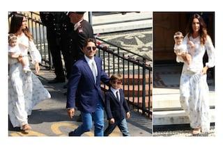 Il battesimo di Sofia Valentina, figlia di Piersilvio Berlusconi e Silvia Toffanin