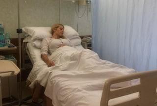 Paura per Paola Caruso, operata d'urgenza per emorragia interna