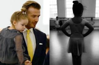 Harper Beckham ballerina, a 5 anni va già nella scuola di danza più famosa d'Inghilterra