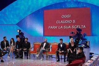 Uomini e Donne - La scelta di Claudio Sona è Mario Serpa (DIRETTA LIVE)
