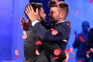 Claudio Sona e Mario Serpa indivisibili dopo la scelta, il trono gay è un trionfo d'amore