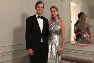 Ivanka e quella mano sul sedere di troppo, quante polemiche sulla famiglia Trump