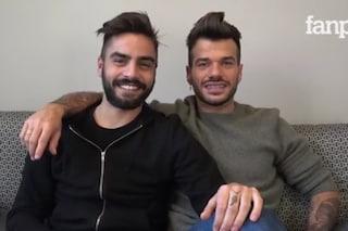 """Claudio e Mario dopo la scelta: """"Il matrimonio è prematuro, ma siamo felici e molto uniti"""""""