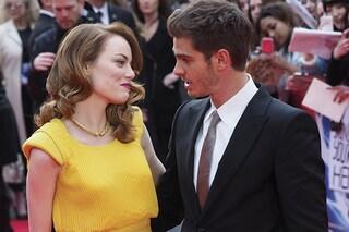 Andrew Garfield ed Emma Stone tornano insieme, sfileranno sul red carpet degli Oscar 2017