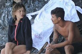 """Eva Grimaldi in lacrime: """"Moreno sembri il figlio che non ho mai avuto"""""""