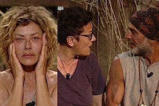 """Degan e Grimaldi in competizione per Imma Battaglia, lei: """"Tranquilla Eva, Raz penserà a me"""""""