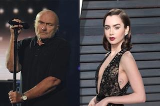 """Lily Collins, la figlia di Phil Collins: """"Ho affrontato bulimia e anoressia, con papà rapporto complicato"""""""