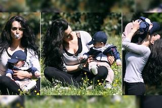 Cristina Del Basso resta una mamma single, non è mai tornata col padre di suo figlio