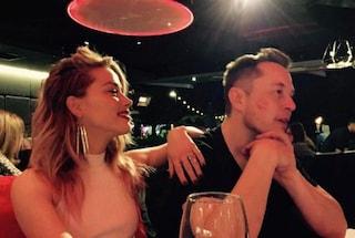 Amber Heard conferma la storia col milionario Elon Musk e dimentica Johnny Depp