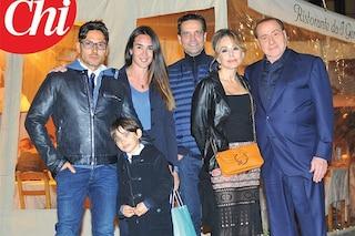 Berlusconi arriva a sorpresa alla festa di compleanno del figlio Pier Silvio