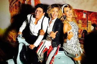 La Grimaldi con Imma Battaglia al compleanno di Barbara D'Urso, Eva ritrova il sorriso dopo il lutto