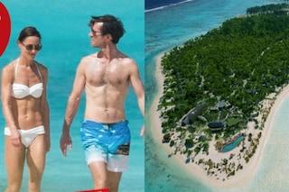 Pippa Middleton e James Matthews, viaggio di nozze da 3400 euro a notte sull'isola Tetiaroa