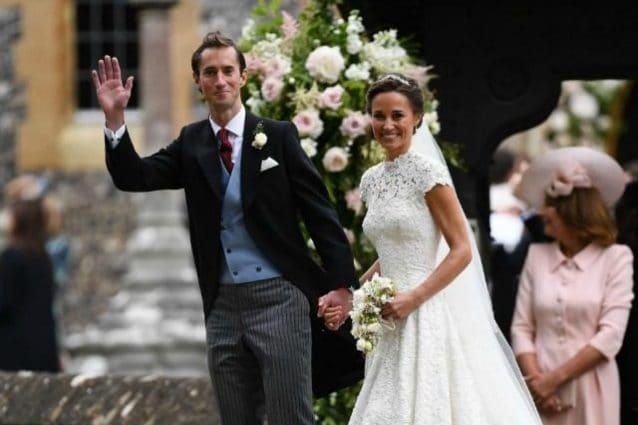 Matrimonio Di Pippa : Gb il matrimonio quasi reale di pippa il sì a james matthews