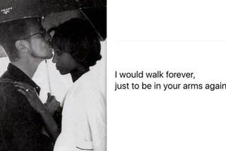 """Iman ricorda David Bowie a 25 anni dalle nozze: """"Vorrei essere di nuovo tra le tue braccia"""""""