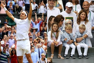 Roger Federer, la moglie Mirka e le due coppie di figli gemelli: la normalità di un campione