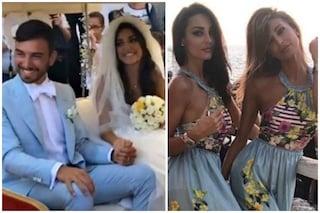 Donatella Buccino si è sposata, le sorelle Cristina e Maria Teresa damigelle sexy