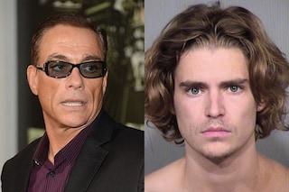 Arrestato il figlio di Van Damme, ha aggredito il suo coinquilino con un coltello