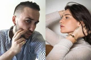 """Ludovica Valli nega di essere fidanzata con Briga poi, romantica, gli dice: """"Tu sai già tutto"""""""