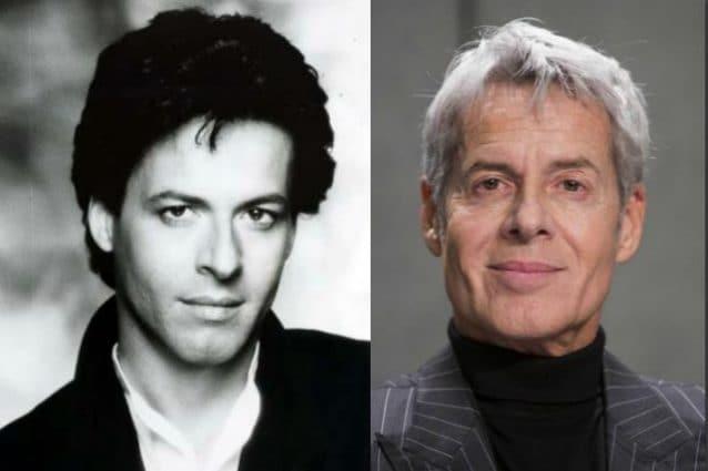 Baglioni, il confronto tra una foto degli anni 80 (prima dell'incidente) e oggi