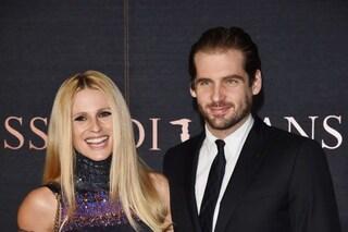 """Michelle Hunziker: """"Con Tomaso pensiamo a un altro figlio, vedremo se Sanremo ce ne porterà uno"""""""