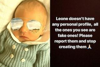"Chiara Ferragni avvisa: ""Leone non ha profili personali ufficiali, segnalate i fake"""