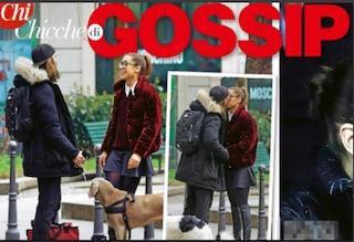Ludovica Frasca bacia un ragazzo misterioso, ma potrebbe essere foto di scena