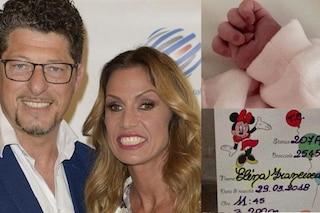 Annalisa Minetti mamma per la seconda volta, è nata Elèna Francesca
